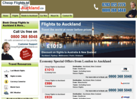 cheapflightstoauckland.co