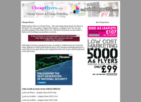 cheapflyers.co.uk