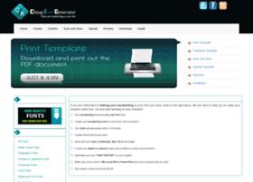 cheapfontgenerator.com