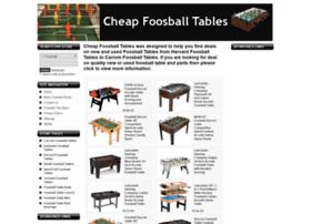 cheapfoosballtables.com