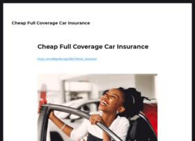 cheapfullcoveragecarinsurance.org