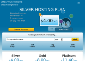cheaphostingsite.info