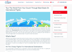 cheapinternationalflights.net