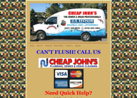 cheapjohnssewer.com