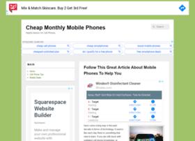 cheapmonthlymobilephones.co.uk