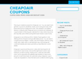 cheapoaircoupons.wordpress.com