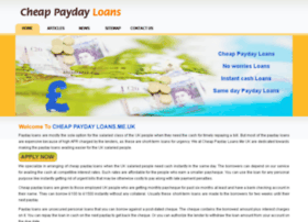 cheappaydayloans.me.uk