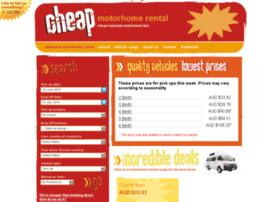 cheaptasmaniamotorhomehire.com.au