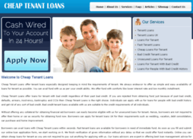 cheaptenantloans.co.uk