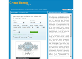 cheaptickets.org.in