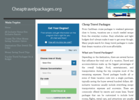 cheaptravelpackages.org