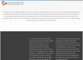 cheapwebsitedesigns.com.au