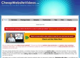 cheapwebsitevideos.com