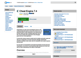 cheat-engine.updatestar.com