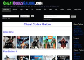 cheatcodesgalore.com