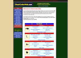 cheatcodesweb.com
