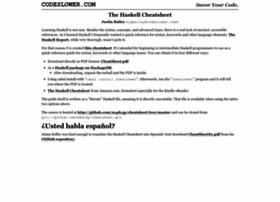 cheatsheet.codeslower.com