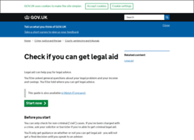 checklegalaid.service.gov.uk