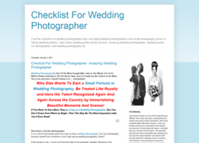 checklistforweddingphotographer.blogspot.com