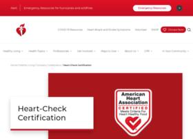 checkmark.heart.org