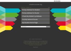 checkmyrouter.org