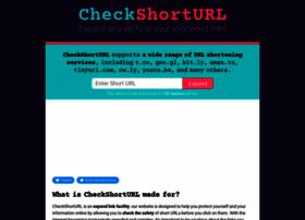 checkshorturl.com