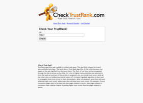 checktrustrank.com