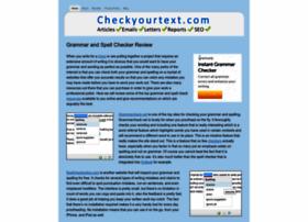 checkyourtext.com