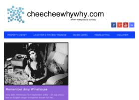 cheecheewhywhy.com