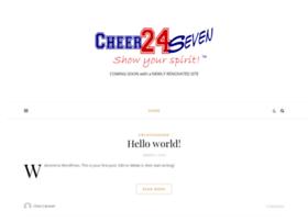 cheer24seven.com