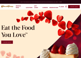 cheesecakefactory.com