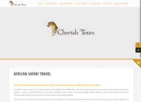 cheetah-tours.com