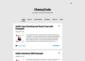 cheezycode.com