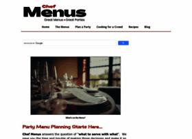 chef-menus.com