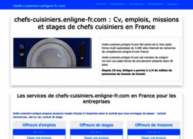 Chefs-cuisiniers.enligne-fr.com