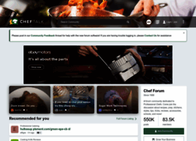 cheftalk.com