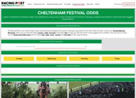 cheltenham.racingpost.com