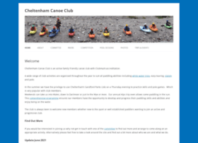 cheltenhamcanoeclub.co.uk