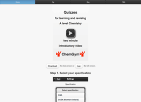 chemgym.net