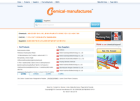 chemical-manufactures.com