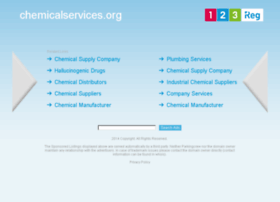 chemicalservices.org