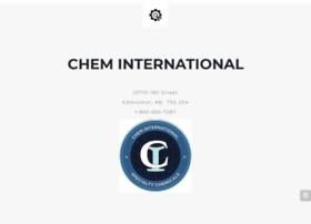 cheminternational.com