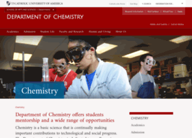 chemistry.cua.edu