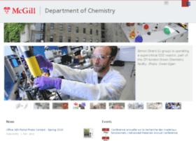 chemistry.mcgill.ca