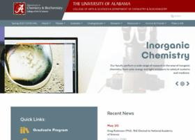 chemistry.ua.edu