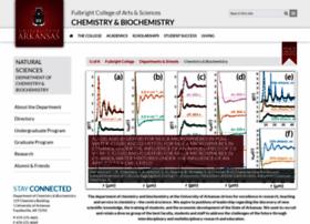 chemistry.uark.edu