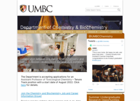 chemistry.umbc.edu