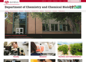 chemistry.unm.edu
