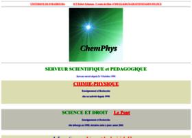 chemphys.u-strasbg.fr