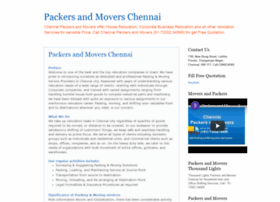 chennai-packers-and-movers.blogspot.in